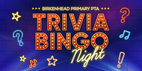 Birkenhead Primary School Trivia Bingo tickets