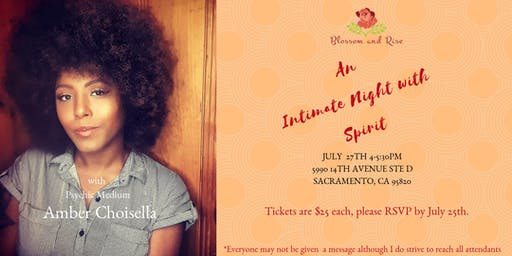 An Intimate Night with Spirit