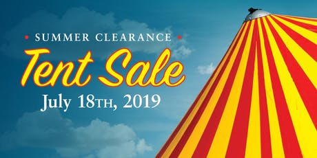 Summer Clearance Tent Sale tickets