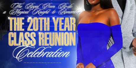 Frank W. Ballou Senior High School Class of '99 - 20 Year Class Reunion: The Royal Prom Re-Do Celebration tickets