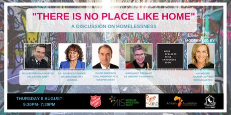"""There is no place like home"" A Discussion on Homelessness tickets"