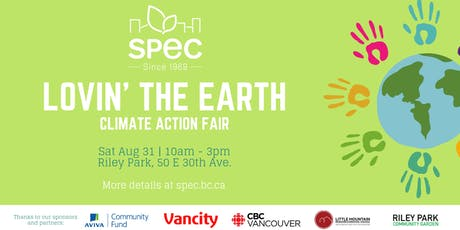 Volunteer Sign Up: Lovin' The Earth Climate Action Fair tickets