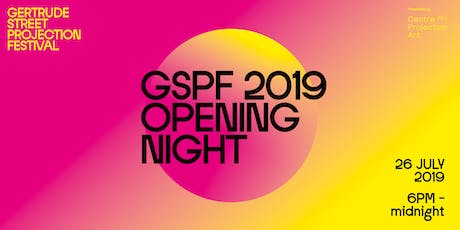 GSPF 2019 Opening Night tickets