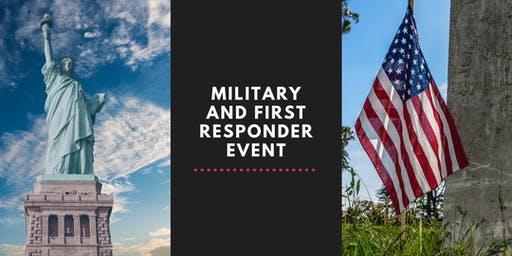 Military and First Responder Event