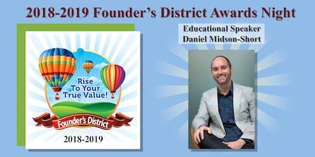 Founder's District 2018-19 Awards Celebration tickets