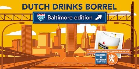 Dutch Drinks Borrel - Baltimore Edition tickets