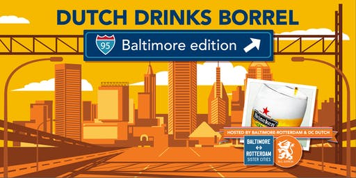 Dutch Drinks Borrel - Baltimore Edition