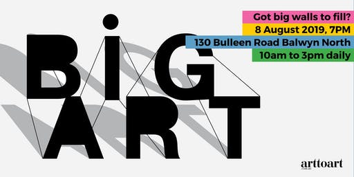 BiG Art – Pop-Up Gallery Opening Night