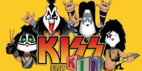 DESCONTO de R$ 100,00 por R$ 35,00! Kiss For Kids no Theatro Net ingressos