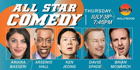 David Spade, Ken Jeong, and more - All-Star Comedy tickets