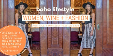 Fall Fundraiser Fashion Show by Boho Lifestyle tickets