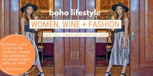 Fall Fundraiser Fashion Show by Boho Lifestyle