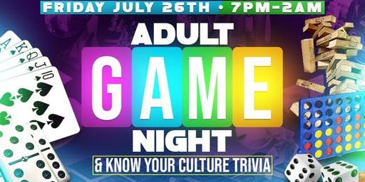 ATXinColor Adult Game Night + Trivia + After Party