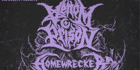 Venom Prison / Homewrecker tickets
