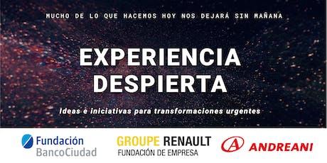 Experiencia Despierta en Rosario entradas