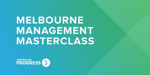 2019 Melbourne Management Masterclass