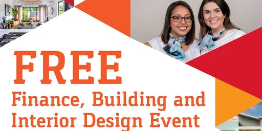 FREE Finance, Building and  Interior Design Event