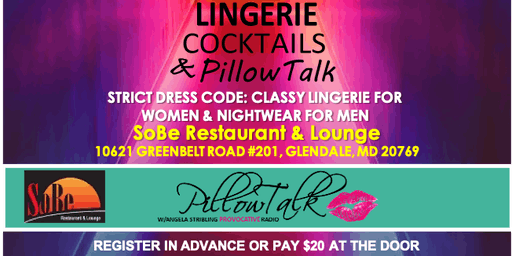 Lingerie, Cocktails, & PillowTalk