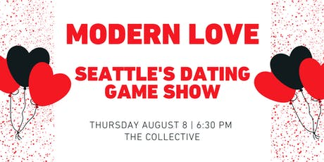 Modern Love: Seattle's Dating Game Show tickets