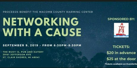 Networking with a Cause tickets