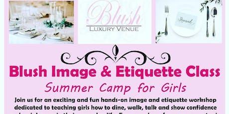 Blush Image & Etiquette Classes tickets