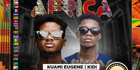 A NIGHT IN AFRICA WITH KUAMI EUGENE AND KIDI LIVE IN CONCERT  tickets