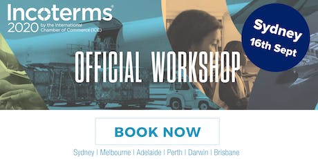 Official ICC Incoterms® 2020 Australian Workshops – SYDNEY tickets