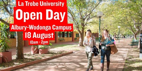 Open Day La Trobe Albury-Wodonga tickets