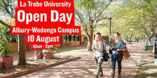 Open Day La Trobe Albury-Wodonga