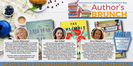 7th Annual Authors Brunch- Soroptimist International of Capistrano Bay tickets