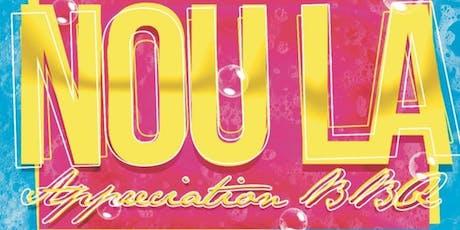 NOU LA APPRECIATION BBQ  tickets