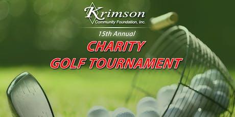 15th Annual Krimson Community Foundation Charity Golf Tournament tickets