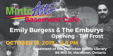Basement Cafe - Emily Burgess & the Emburys and Tiff Frost tickets