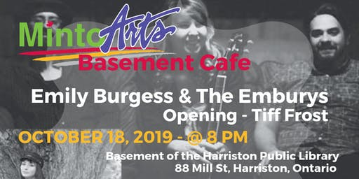 Basement Cafe - Emily Burgess & the Emburys and Tiff Frost