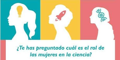 Encuentro Mujeres en la Ciencia entradas