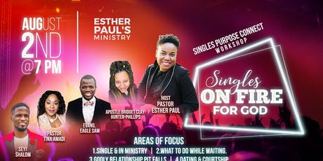 Singles Purpose Connect Workshop tickets