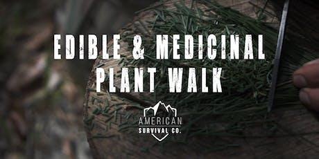 Edible & Medicinal Plant Walk  - AR tickets