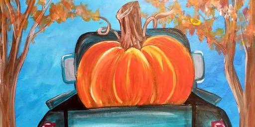 Becki's Bday Paint N Sip at DeRienzo's