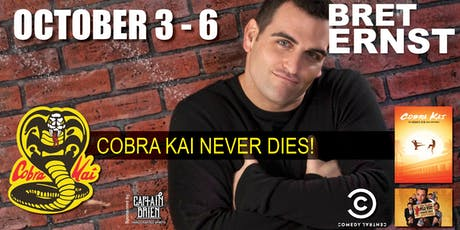 Comedian Bret Ernst live in Naples, Fl at Off the Hook Comedy Club tickets