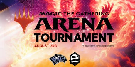 NYC Magic: Arena Tournament! (Free Packs + Food) tickets