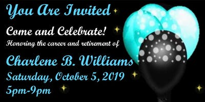 Charlene Williams Retirement Party