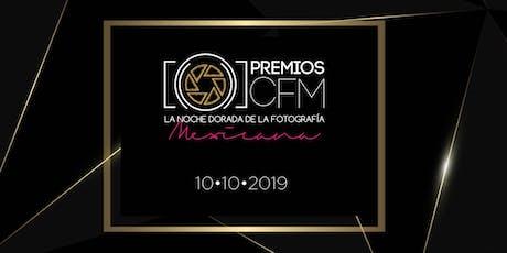 Premios CFM 2019 entradas