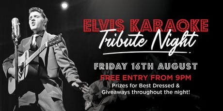 Elvis Tribute Karaoke Night tickets