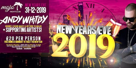 ANDY WHITBY'S NEW YEARS EVE PARTY - MOJO WREXHAM tickets