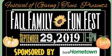 """Festival"" Fall Family Fun Fest tickets"