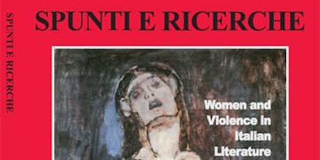 Women and Violence in Italian Literature tickets