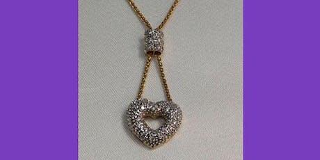 Diamond Necklace 18 Karat tickets