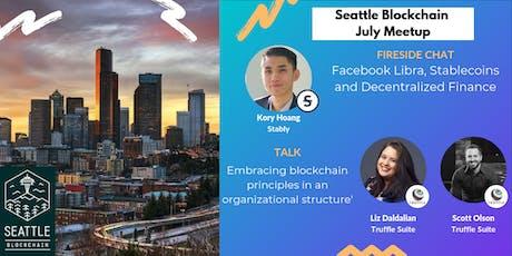 Facebook Libra, Stablecoins and Decentralized Finance | Seattle Blockchain tickets
