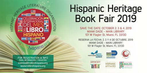 2nd Annual Hispanic Heritage Book Fair 2019 - Mi Libro Hispano