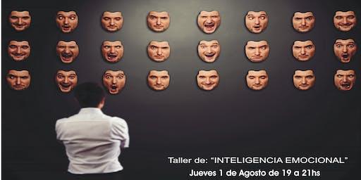 """Taller de """"INTELIGENCIA EMOCIONAL"""""""